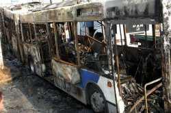 Δεν κινδύνευσε κανείς από την φωτιά που ξέσπασε σε λεωφορείο