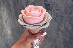 Παγωτά-τριαντάφυλλα που δεν θέλεις να φας