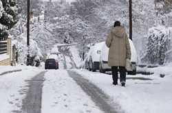 Μεγάλος χιονιάς Δευτέρα,Τρίτη,Τετάρτη και Πέμπτη  - Δείτε που θα το στρώσει
