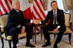 Μακρόν και Τραμπ συμφωνούν ότι αν η Συρία διαπράξει νέα επίθεση με χημικά, θα υπάρξει κοινή αντίδρασή