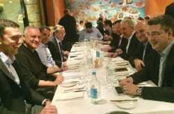 Το γεύμα του Κ. Μητσοτάκη με τους ευρωβουλευτές της ΝΔ στην Μάλτα