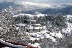 Κακοκαιρία: Παγετός και χιόνι σε όλη την Ήπειρο