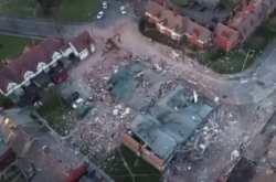 Βρετανία: Εικόνες απόλυτης καταστροφής ύστερα από την έκρηξη στο Μέρσεϊσάιντ (ΒΙΝΤΕΟ)
