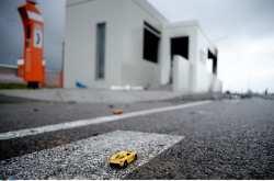 οκ και θλίψη προκαλούν οι εικόνες της επόμενης μέρας του θανατηφόρου τροχαίου που σημειώθηκε στην εθνική οδό Αθηνών-Λαμίας