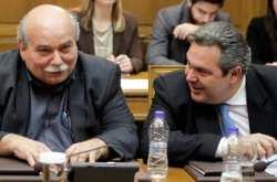 Την πλήρη αντίθεσή του για τις δηλώσεις του προέδρου της Βουλής Νίκου Βούτση, σε ό,τι αφορά τις παρελάσεις και την Ορθοδοξία εξέφρασε ο υπουργός Άμυνας Πάνος Καμμένος