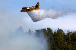 Δύο καναντέρ από Ελλάδα στην κατάσβεση των πυρκαγιών των μειονοτικών χωριών στην Β. Ήπειρο