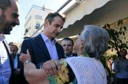 Περιοδεία του Κυριάκου Μητσοτάκη σε Άργος, Ναύπλιο και Επίδαυρο