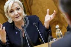 Κατά του ευρώ και υπέρ της επιστροφής στο γαλλικό φράγκο παραμένει η υποψήφια της Ακροδεξιάς