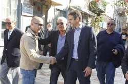 Για τρίτη φορά μέσα σε λίγους μήνες ο Κυριάκος Μητσοτάκης επισκέπτεται την Κρήτη