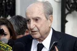Απεβίωσε σε ηλικία 99 χρόνων ο Κωνσταντίνος Μητσοτάκης