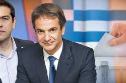 Δημοσκόπηση KAΠΑ Research: Πάνω από 9 μονάδες το προβάδισμα ΝΔ έναντι του ΣΥΡΙΖΑ