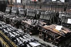 Βόμβα έτοιμη να σκάσει τα Βαλκάνια-Ήθελαν να οπλίσουν τους Αλβανούς των Σκοπίων- Κατασχέθηκε μεγάλη ποσότητα όπλων που περιελάμβανε χιλιάδες τουφέκια, πολυβόλα, όλμους αλλά και χειροβομβίδες