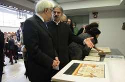 Τη Βιβλιοθήκη της Ανωτάτης Σχολής Καλών Τεχνών εγκαινίασε ο Π. Παυλόπουλος