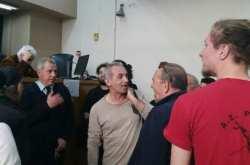 Για ακόμη μία φορά εμποδίστηκαν οι πλειστηριασμοί στο Ειρηνοδικείο Θεσσαλονίκης