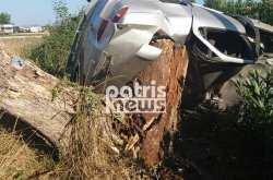 Αιματοβαμμένος Δεκαπενταύγουστος - Τραγικό τροχαίο στην Εθνική Οδό (ΦΩΤΟ)