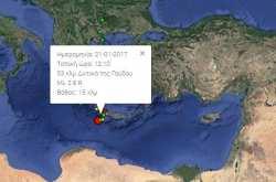 Απανωτοί σεισμοί ταρακούνησαν τα Χανιά