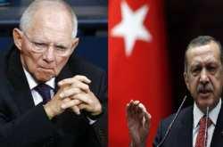 Σόιμπλε: Ο Ερντογάν καταστρέφει την ενσωμάτωση της Τουρκίας-Ερντογάν: Είστε Ναζί!