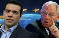 """Αυστηρή προειδοποίηση του Σόιμπλε προς την κυβέρνηση Τσίπρα: """"Η Γερμανία δεν θα αποδεχτεί νέο πρόγραμμα για την Ελλάδα αν αποχωρήσει το ΔΝΤ"""""""