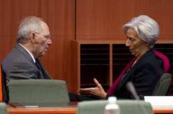 Πρωτοφανή επίθεση κατά του ΔΝΤ εξαπέλυσε ο Βόλφγκανγκ Σόιμπλε : Πιο ρεαλιστικές οι προβλέψεις της Αθήνας από του ΔΝΤ- Αιχμές και κατά του επικεφαλής της Ευρωπαϊκής Διεύθυνσης Πολ Τόμσεν- Ολόκληρος ο διάλογος