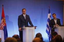 Στο πλευρό της Ελλάδας στο ζήτημα της ονομασίας της ΠΓΔΜ θα βρίσκεται η Σερβία διαβεβαίωσε ο Σέρβος πρόεδρος