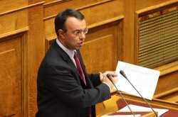 """Σταϊκούρας: Στάση πληρωμών, """"σκούπισμα"""" ταμειακών διαθεσίμων και επιστροφή στην ύφεση"""