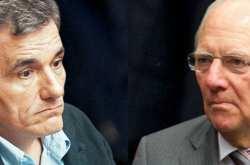 Μια κατ΄ ιδίαν συνομιλία που είχε με τον Ευκλείδη Τσακαλώτο αποκάλυψε ο Γερμανός Υπουργός Οικονομικών