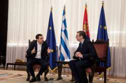 Τσίπρας-Βούτσιτς: Οι συνομιλίες μας βασίστηκαν σε αυτό που έχουμε να κάνουμε στο μέλλον