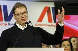Σερβία: Σαρωτική νίκη του Αλ. Βούτσιτς στις προεδρικές εκλογές