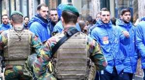 Βόλτα για την Εθνική στις Βρυξέλλες