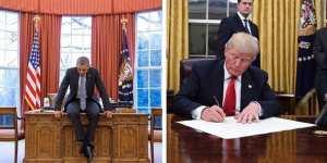 Τι άλλαξε ο Τραμπ στο Οβάλ Γραφείο;