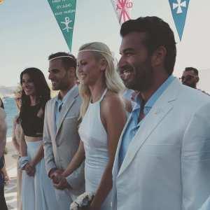 Βάσω Κολιδά: Ντύθηκε νύφη! - Λαμπερός γάμος στην Πάρο (ΦΩΤΟ)