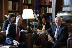 Παυλόπουλος: Η Ελλάδα προσβλέπει στην ακόμη στενότερη συνεργασία με την Κίνα