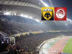 ΑΕΚ - Ολυμπιακός στο ΟΑΚΑ για την 21η αγωνιστική της Super League