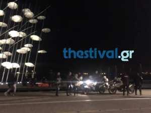 Αναστάτωση επικράτησε νωρίτερα στη Νέα Παραλία Θεσσαλονίκης