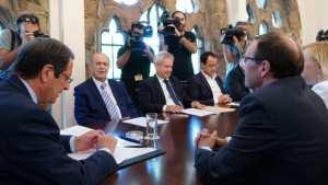 Ο Πρόεδρος της Κύπρου αποφάσισε να μην προχωρήσει τελικά στη δημοσιοποίηση αποσπασμάτων των πρακτικών του δείπνου, της 6ης Ιουλίου, στο Κραν Μοντανά