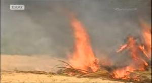 Survivor: Κάηκε ολοσχερώς η καλύβα των Μαχητών (ΒΙΝΤΕΟ)
