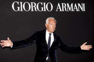 Ο οίκος Armani σε κρίση