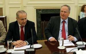 Ο Έλληνας υπουργός Εξωτερικών μαζί με τον Κύπριο ομόλογό του εξέτασαν τις εξελίξεις στο Κυπριακό