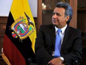 Ο διάδοχος του Κορέα, Λένιν Μορένο, νέος πρόεδρος του Εκουαδόρ