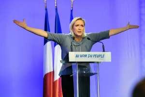 Σκληρή απέναντι στην Ευρωπαϊκή Ενωση εμφανίστηκε για ακόμη μία φορά η Μαρίν Λεπέν