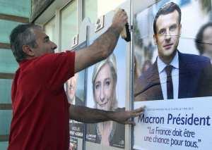 Γαλλικές εκλογές-Νέα δημοσκόπηση: Μακρόν 64%-Λεπέν 36%