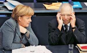 """Αποκάλυψη εσωτερικού εγγράφου του γερμανικού υπουργείο Οικονομικών- """"Όχι"""" στην ελάφρυνση του ελληνικού χρέους εμφανίζεται να διατηρεί το γερμανικό υπουργείο Οικονομικών- Μέρκελ σε Λαγκάρντ: """"Ναι"""" στην παράταση του χρόνου αποπληρωμής"""