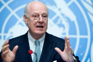 """""""Πού είναι οι ΗΠΑ;"""" Διερωτάται ο απεσταλμένος του ΟΗΕ για τη Συρία"""
