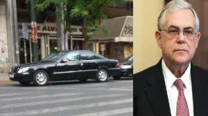 Έκρηξη στο αυτοκίνητο του Λουκά Παπαδήμου στην οδό Μάρνη-Τραυματίας ο πρώην Πρωθυπουργός