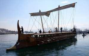 Ημέρες Θάλασσας: Μέχρι την Κυριακή 28 Μαΐου η ιστορική τριήρης «Ολυμπιάς» στη Μαρίνα Ζέας
