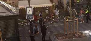 Φορτηγό έπεσε σε πεζούς στην Ράμπλας στη Βαρκελώνη - Αρκετοί τραυματίες-Συναγερμός στην περιοχή(συνεχής ενημέρωση)