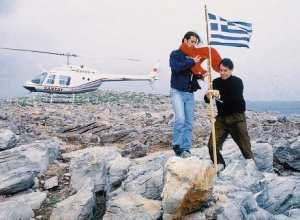 """Ο Τούρκος """"δημοσιογράφος"""" που έβαλε φωτιά στα Ίμια ζητά να ΄ρθει στην Ελλάδα!"""