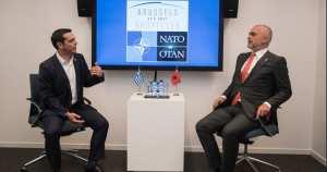 Συνάντηση Τσίπρα-Ράμα, στο περιθώριο των εργασιών του ΝΑΤΟ