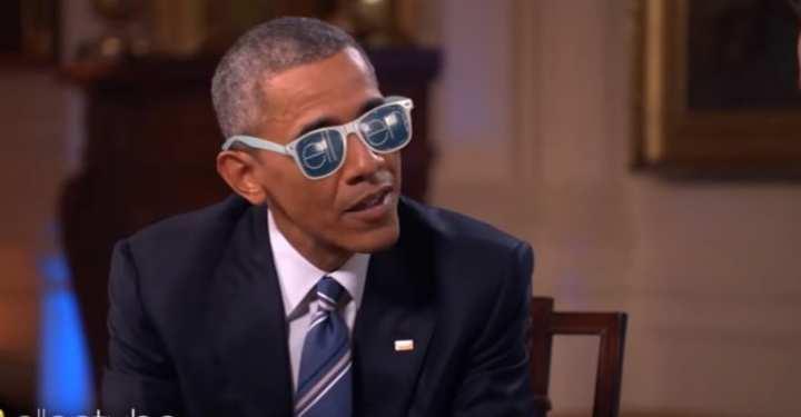 Δείτε το εκπληκτικό αφιέρωμα της Ελεν Ντε Τζένερις στους Ομπάμα