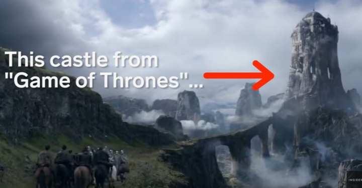 Σκηνικό του Game Of Thrones εμπνευσμένο από τα Μετέωρα